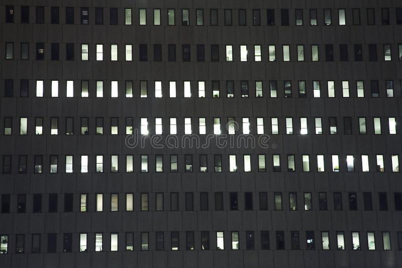 fönster för 1 byggnadskontor arkivbilder
