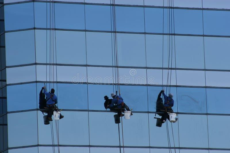 fönster för 3 packningar fotografering för bildbyråer