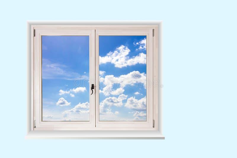 Fönster för dubbel dörr royaltyfria bilder