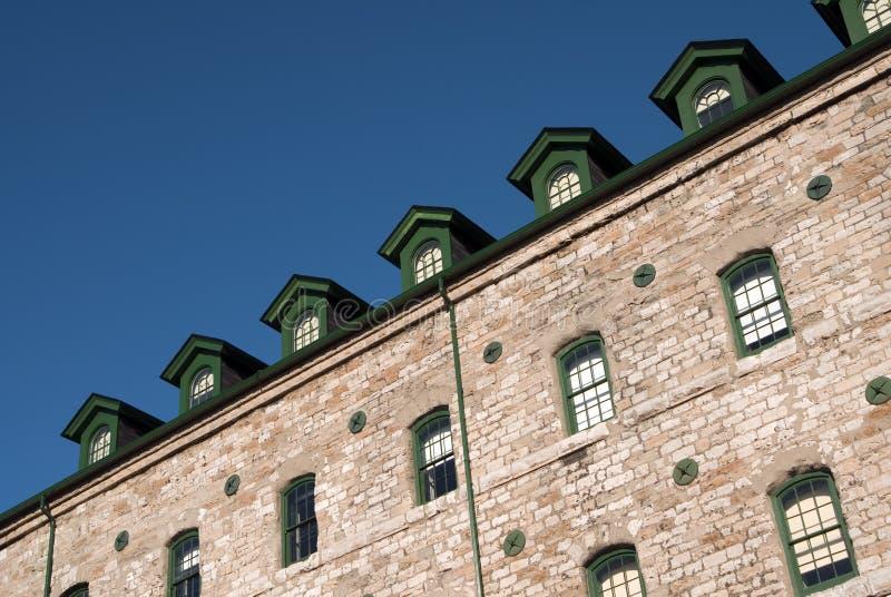 fönster för green sju royaltyfri fotografi
