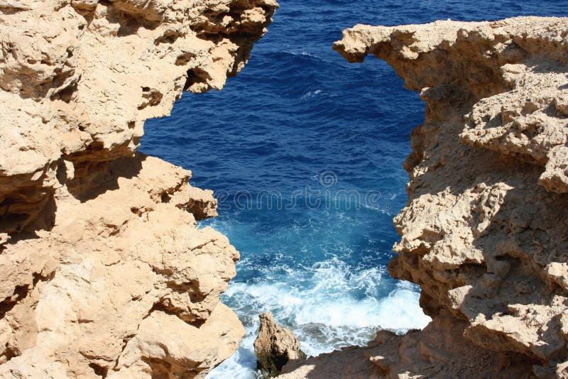 Fönster i Röda havet royaltyfri fotografi