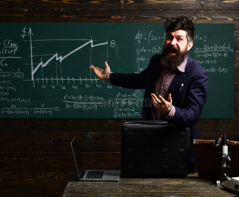 Föräldrar sätter vanligt deras ungar in i akademisk coachning entusiastiskt och att bry sig en-på-en matematik handleda är ofta n arkivfoton