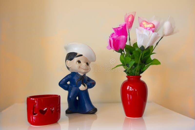 Förälskad sjöman royaltyfri fotografi