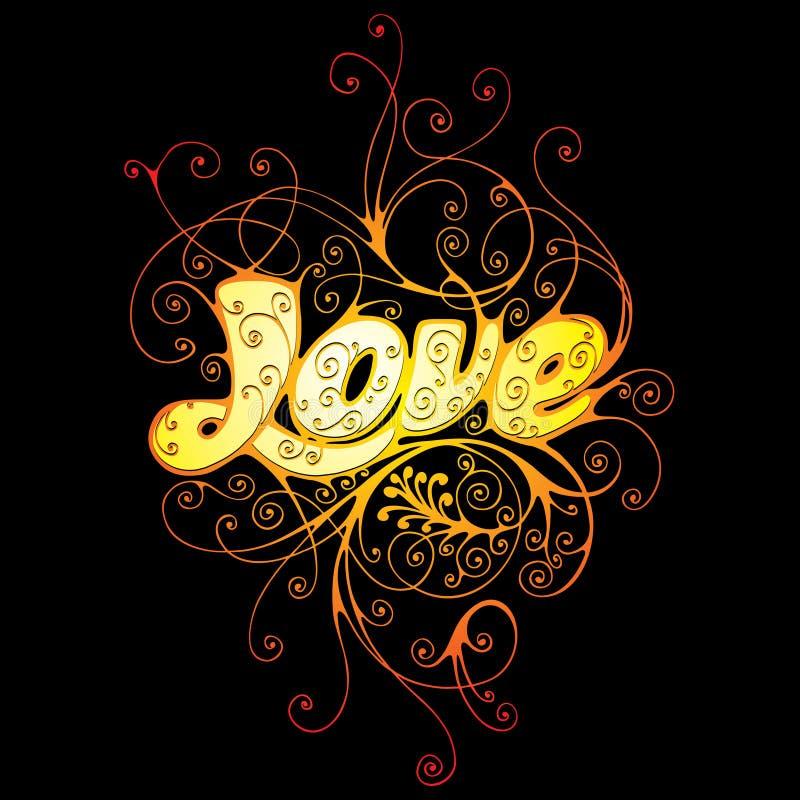 förälskelse stock illustrationer
