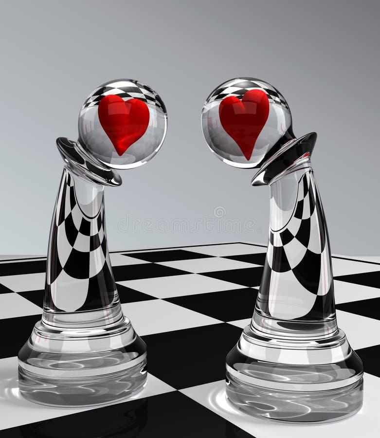 förälskelse pantsätter vektor illustrationer