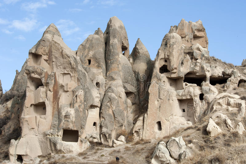 Förälskelsedal, Goreme region, Turkiet royaltyfri foto