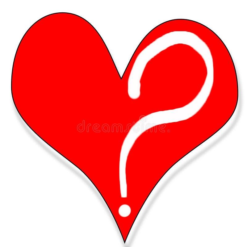Download Förälskelsefråga stock illustrationer. Illustration av valentiner - 504258