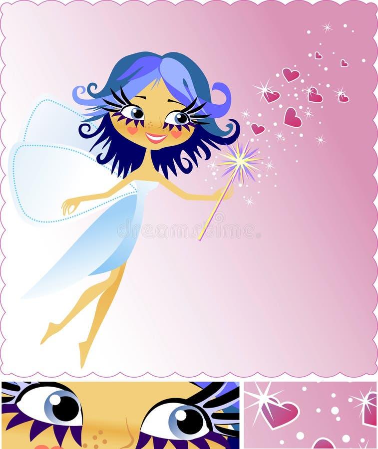 förälskelsemagi royaltyfri illustrationer