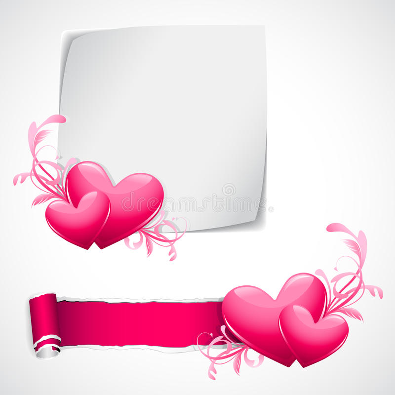 förälskelsemall vektor illustrationer