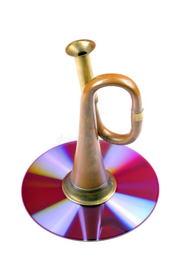 förälskelsemusik royaltyfria bilder