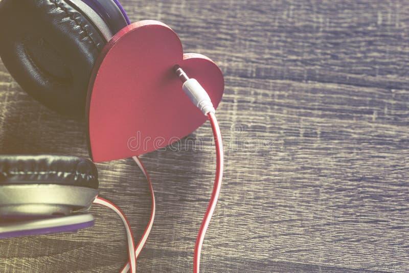 Förälskelsemusikbegrepp royaltyfri foto