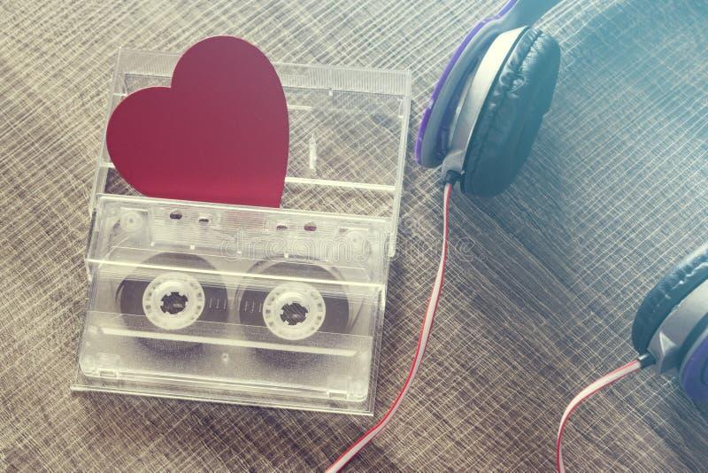 Förälskelsemusikbegrepp arkivbild