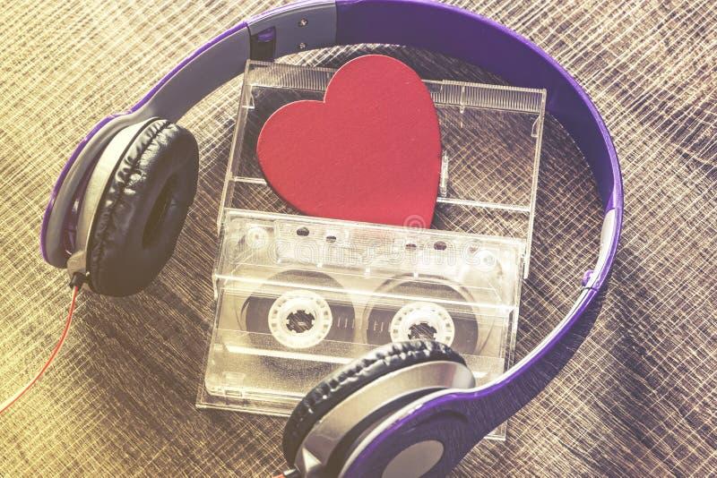 Förälskelsemusikbegrepp royaltyfri fotografi
