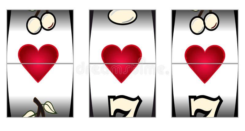Förälskelsespringa royaltyfri illustrationer