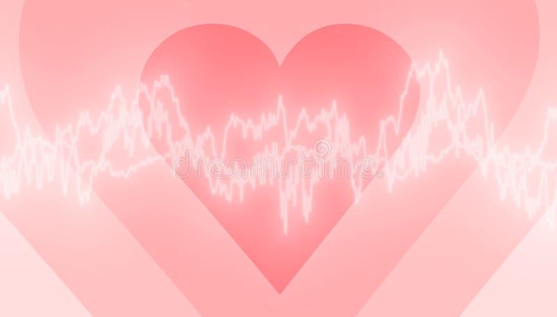 förälskelseström vektor illustrationer