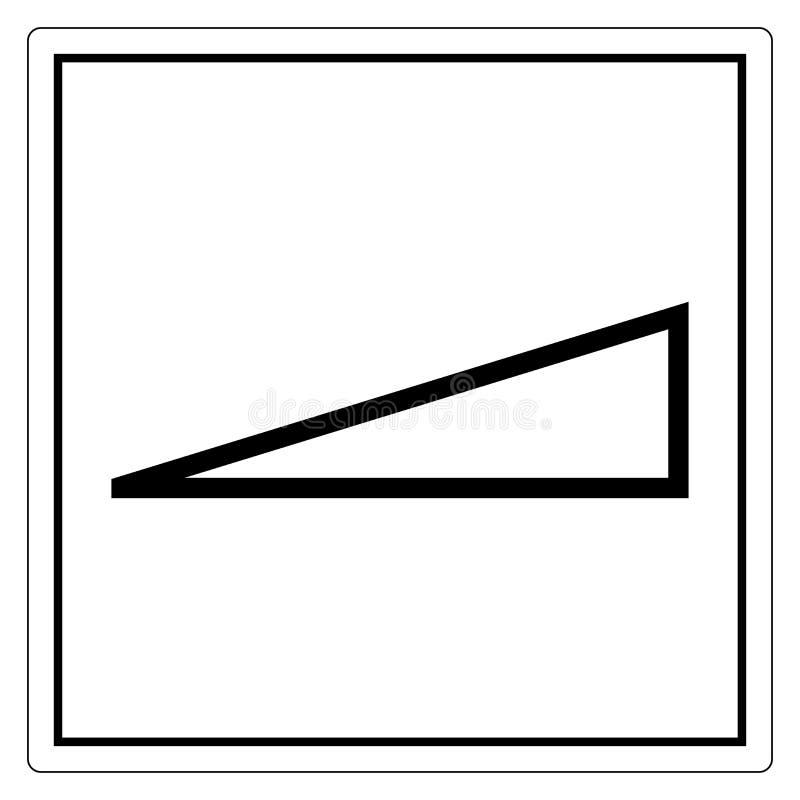F?r?nderlighetsymboltecken, vektorillustration, isolat p? den vita bakgrundsetiketten EPS10 stock illustrationer