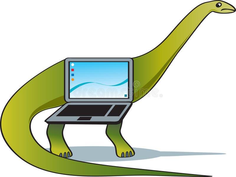 föråldrad teknologi vektor illustrationer