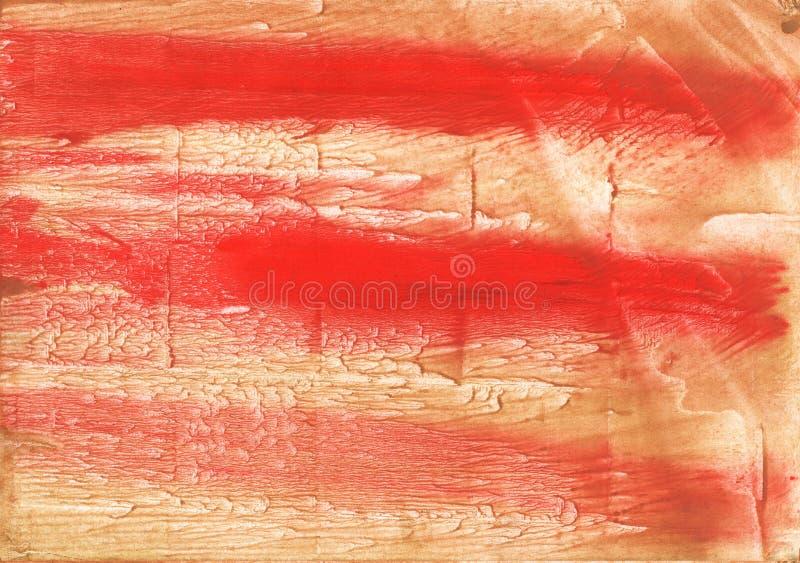 För abstrakt begreppvattenfärg för bränd siena bakgrund arkivfoton