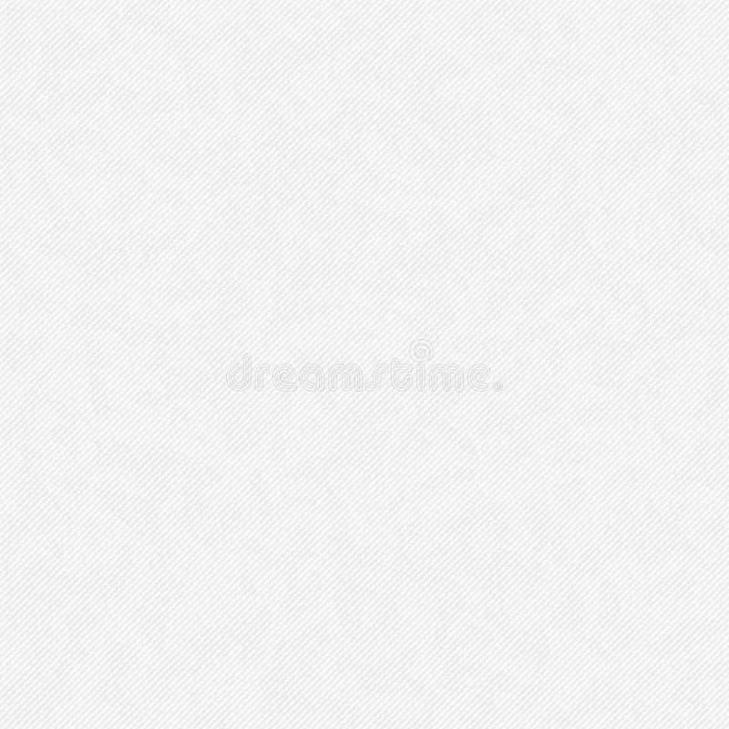 För abstrakt begreppvektor för vit fyrkant bakgrund -- texturgrov bomullstvill, tygtexturbakgrund vektor illustrationer
