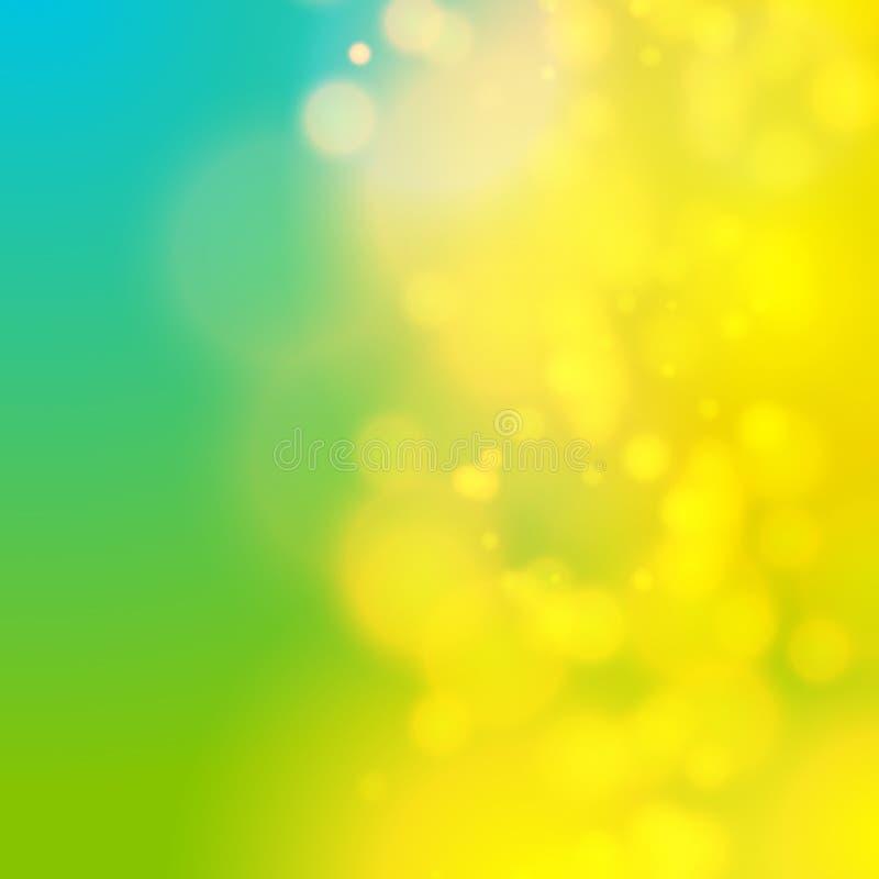 För backgroubndsuddighet för cirkel abstrakt ljus effect07 royaltyfri illustrationer