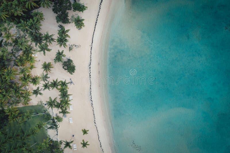 För Bahia för fågelsiktsskott strand principe arkivfoton