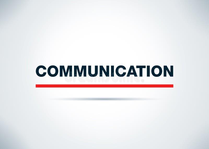 För bakgrundsdesign för kommunikation abstrakt plan illustration vektor illustrationer