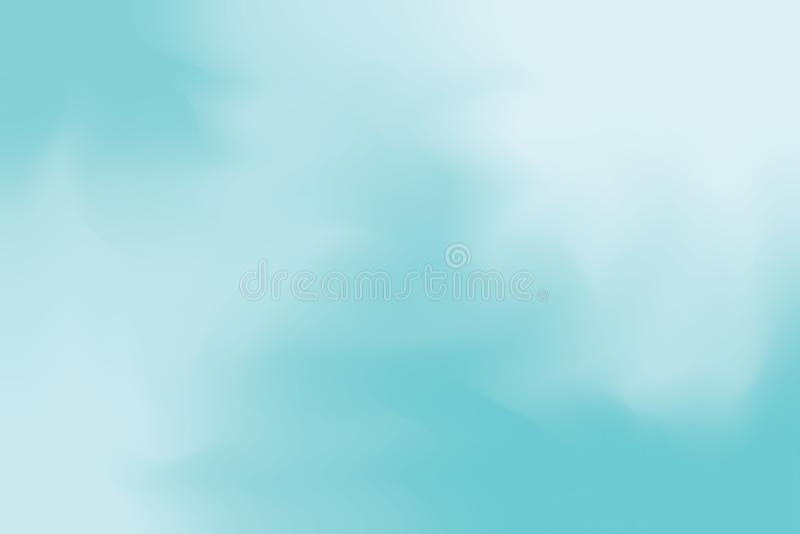 För bakgrundsmålning för blå mjuk färg blandat abstrakt begrepp för pastell för konst, färgrik konsttapet stock illustrationer