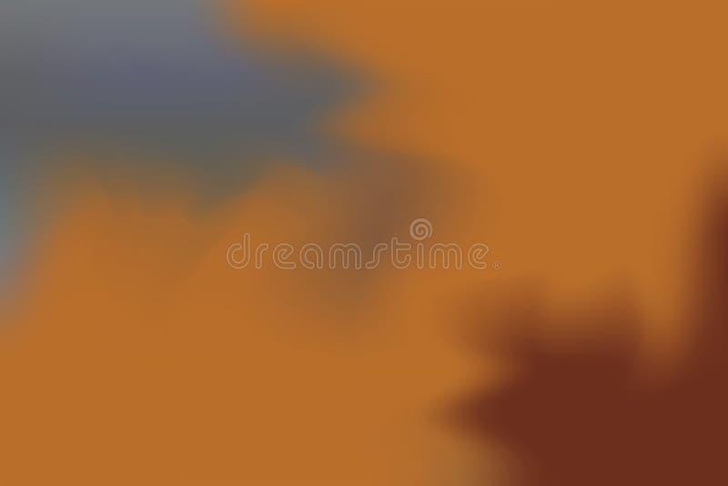 För bakgrundsmålning för brun grå mjuk färg blandat abstrakt begrepp för pastell för konst, färgrik konsttapet vektor illustrationer