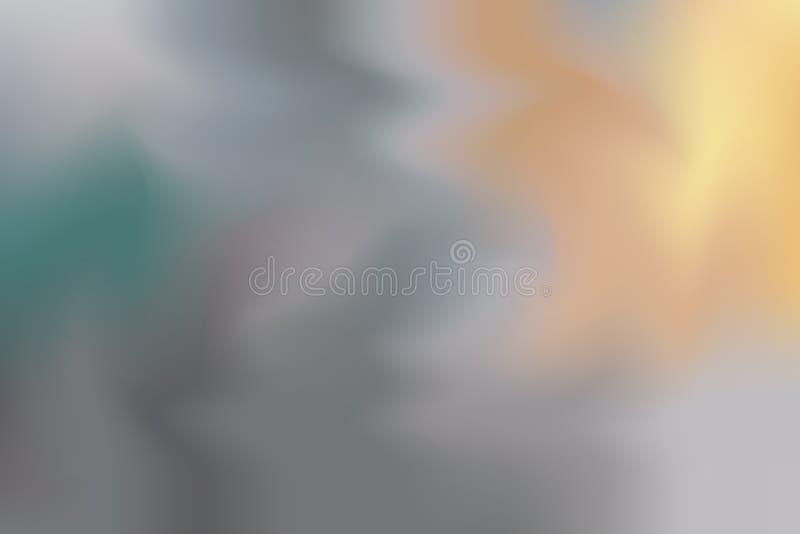 För bakgrundsmålning för grå mjuk färg blandat abstrakt begrepp för pastell för konst, färgrik konsttapet stock illustrationer