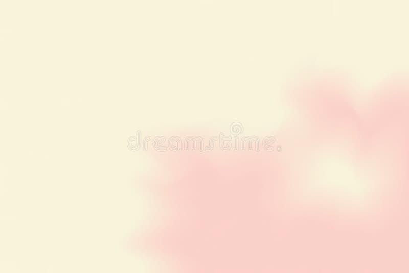 För bakgrundsmålning för gul rosa mjuk färg blandat abstrakt begrepp för pastell för konst, färgrik konsttapet vektor illustrationer