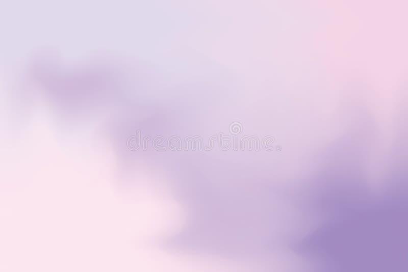 För bakgrundsmålning för purpurfärgad mjuk färg blandat abstrakt begrepp för pastell för konst, färgrik konsttapet royaltyfri illustrationer
