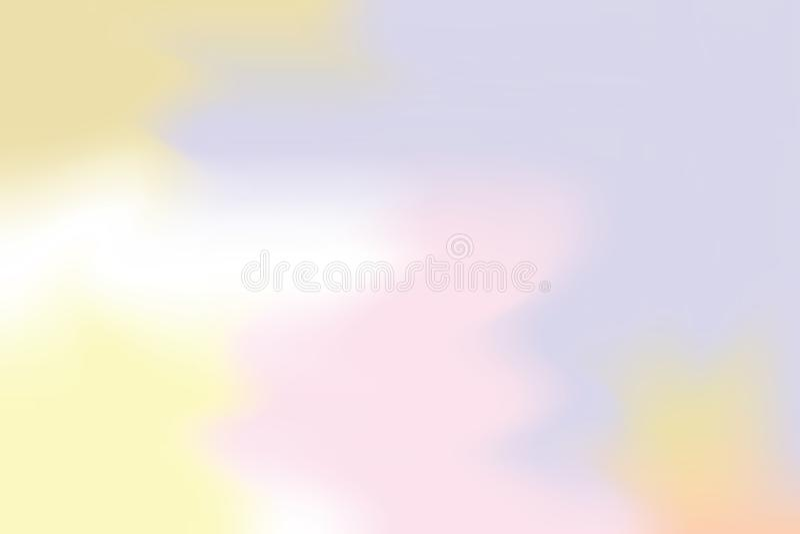 För bakgrundsmålning för purpurfärgad rosa mjuk färg blandat abstrakt begrepp för pastell för konst, färgrik konsttapet vektor illustrationer