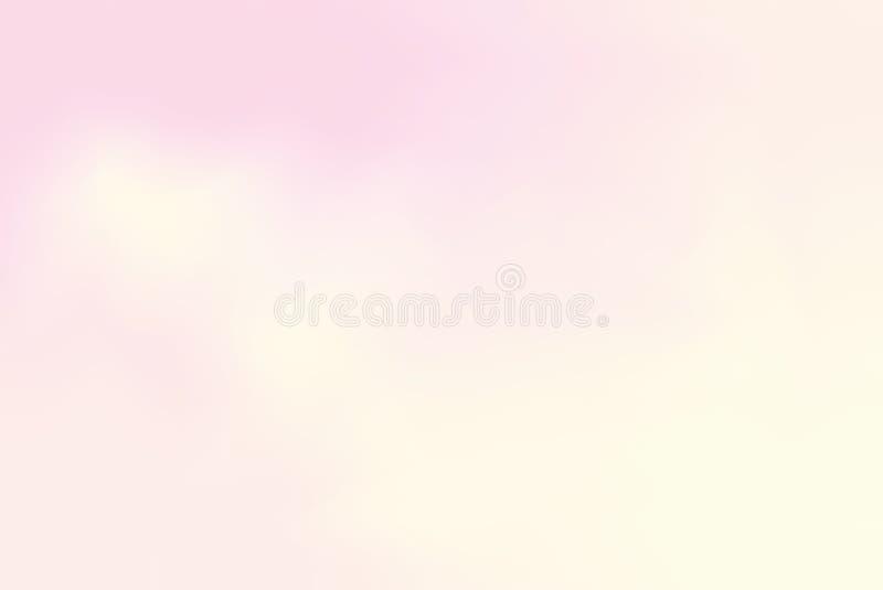 för bakgrundsmålning för rosa mjuk färg blandat abstrakt begrepp för pastell för konst, färgrik konsttapet royaltyfri illustrationer
