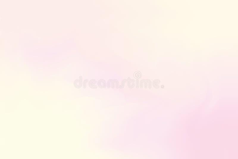 för bakgrundsmålning för rosa mjuk färg blandat abstrakt begrepp för pastell för konst, färgrik konsttapet vektor illustrationer