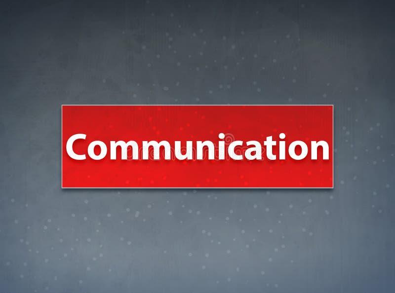 För banerabstrakt begrepp för kommunikation röd bakgrund vektor illustrationer