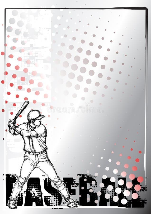 för baseballblyertspenna för 2 bakgrund affisch vektor illustrationer