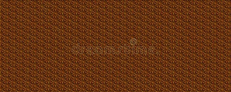 För Batiktextur för guld- färg blom- bakgrund arkivfoton