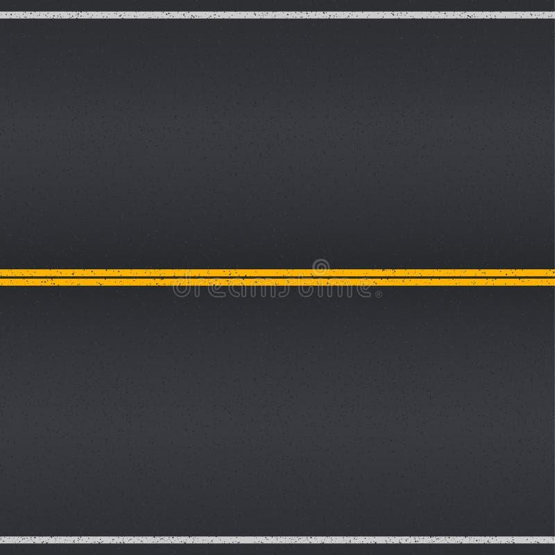 för bildandeväg för asfalt detaljerad struktur för personal för fyrkant vektor illustrationer