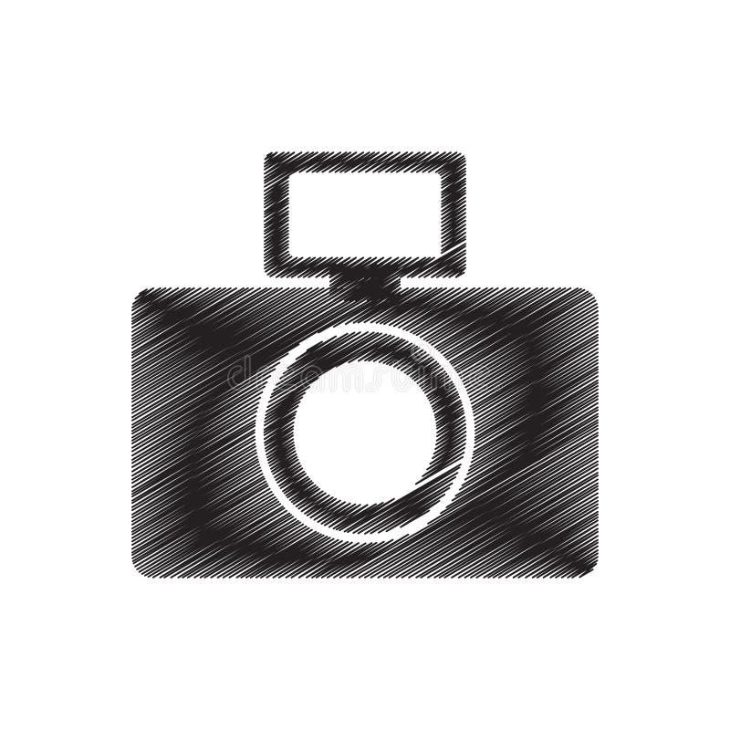 för bildexponering för fotografisk kamera pictogram för attraktion vektor illustrationer