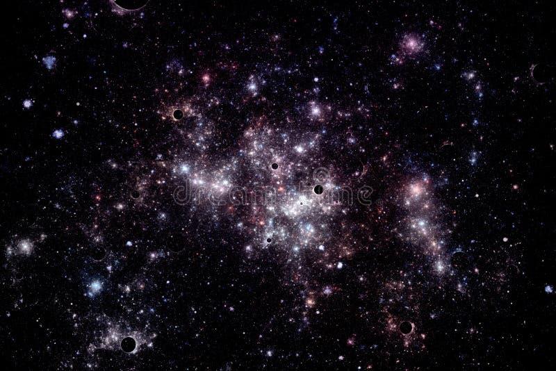 för bildnebula för oklarheter djupa stjärnor för avstånd arkivfoton