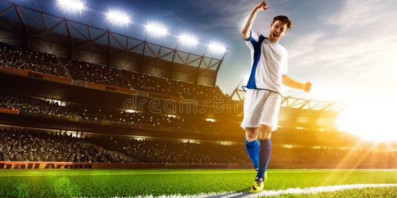 för bildspelare för uppgift full isloted studio för fotboll royaltyfri foto
