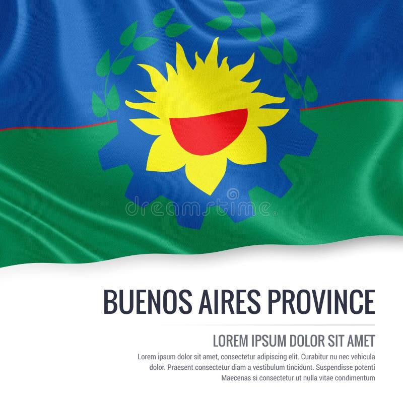 För Buenos Aires för argentinare statlig flagga landskap royaltyfri illustrationer