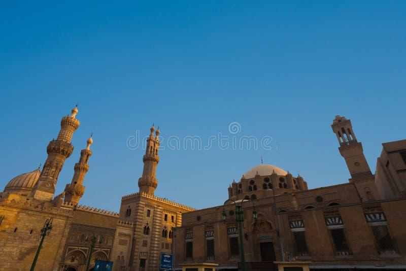 för cairo för al azhar universitetar för moské madrasa royaltyfria bilder