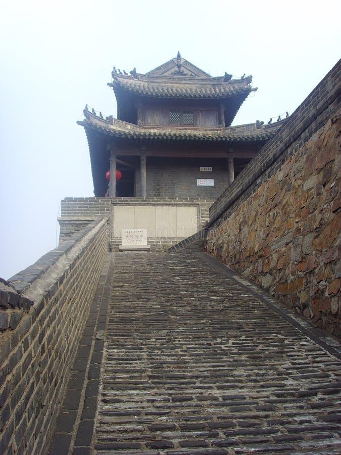 För Chinaï Xingcheng för forntida stad för Gateï för ˆSouth ¼ ‰ ¼, arkivbild