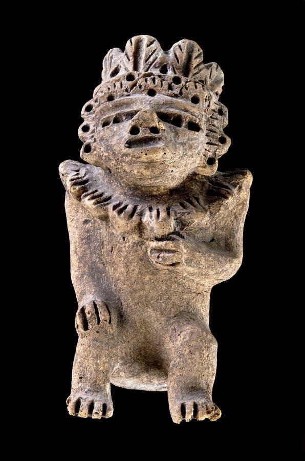för columbian krigare pre arkivbild