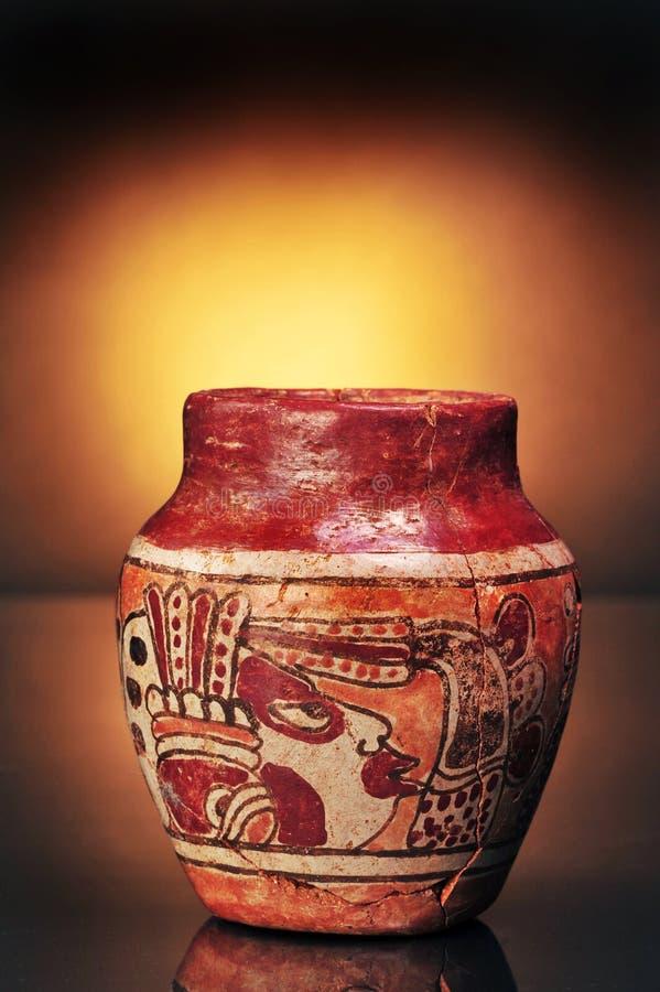 för columbian vase pre royaltyfri foto