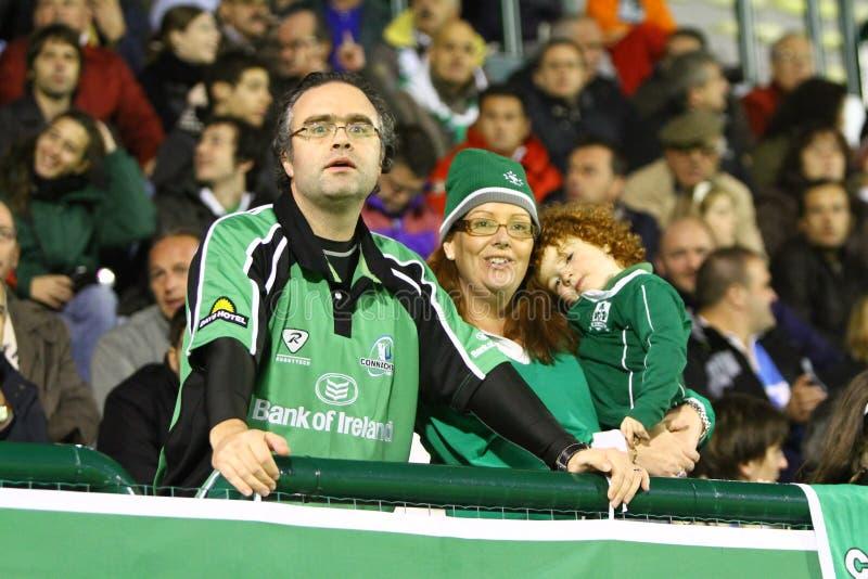 för connachtliga för benetton celtic rugby vs royaltyfri bild