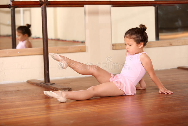 för dansaredesign för balett härlig illustration arkivfoton