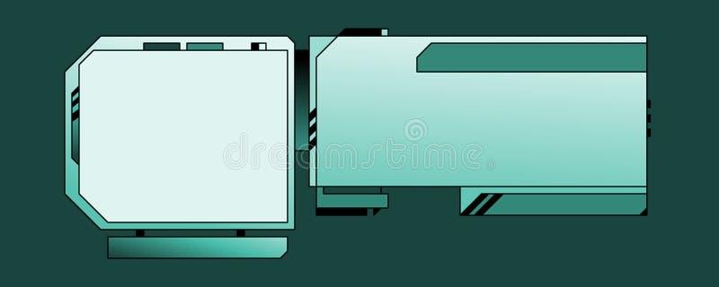 för designmall för 03 b rengöringsduk vektor illustrationer