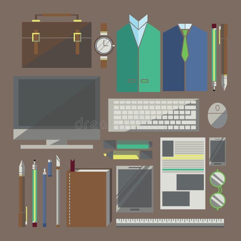 För dig design royaltyfri illustrationer